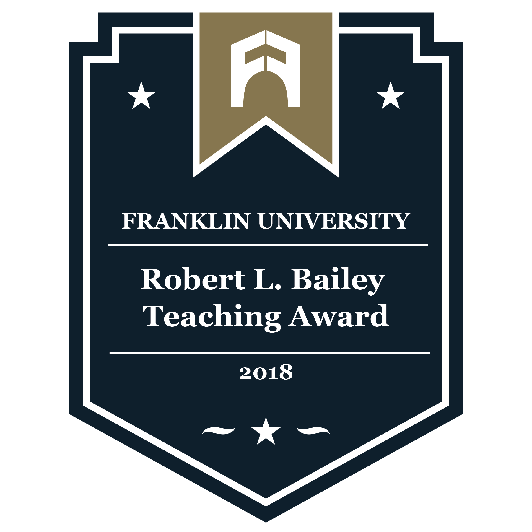 2018 Robert L. Bailey Teaching Award