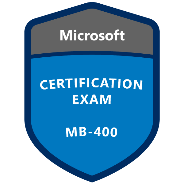 MB-400 Microsoft Power Apps + Dynamics 365 Developer