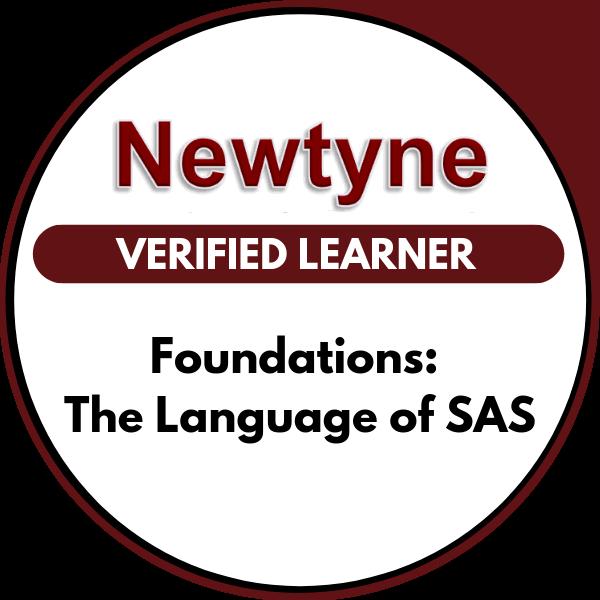 Foundations: The Language of SAS