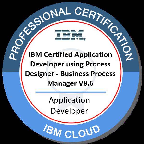 IBM Certified Application Developer using Process Designer - Business Process Manager V8.6