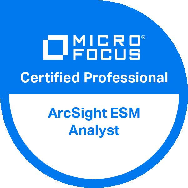 ArcSight ESM Analyst v6.11 Certified Professional