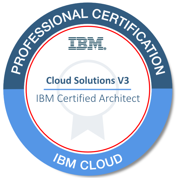IBM Certified Architect - Cloud Solutions v3