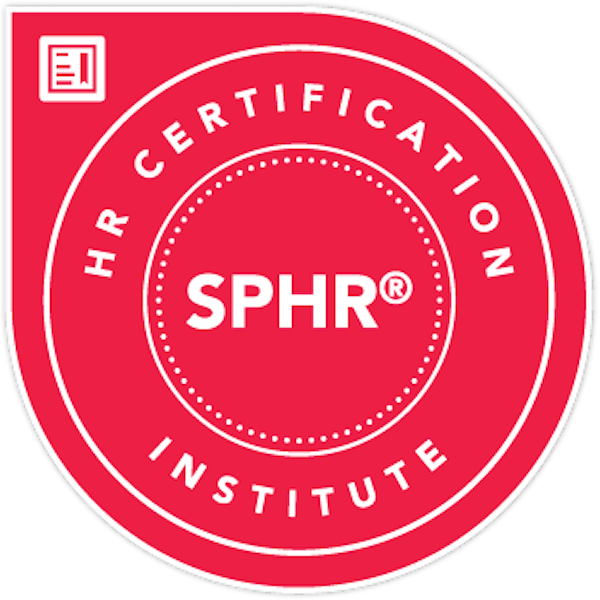 Senior Professional in Human Resources® (SPHR®) Certification