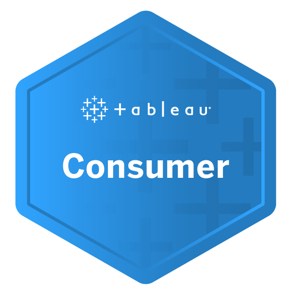 Tableau Consumer