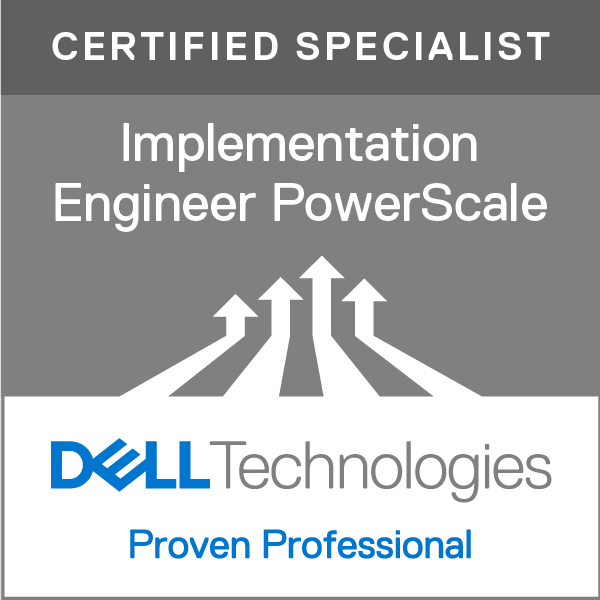 Specialist - Implementation Engineer, PowerScale Version 3.0