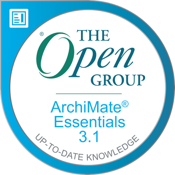 The Open Group Certified: ArchiMate® Essentials 3.1