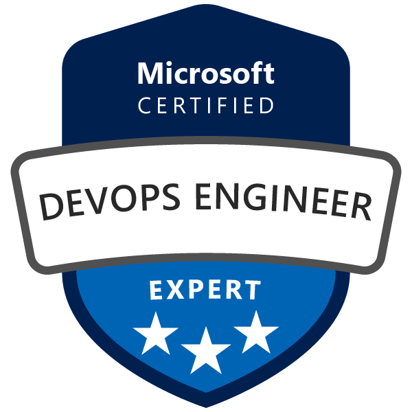 Microsoft Certified: DevOps Engineer for Azure Expert