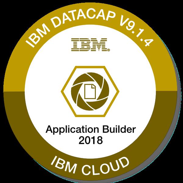 IBM Datacap V9.1.4 - Application Builder