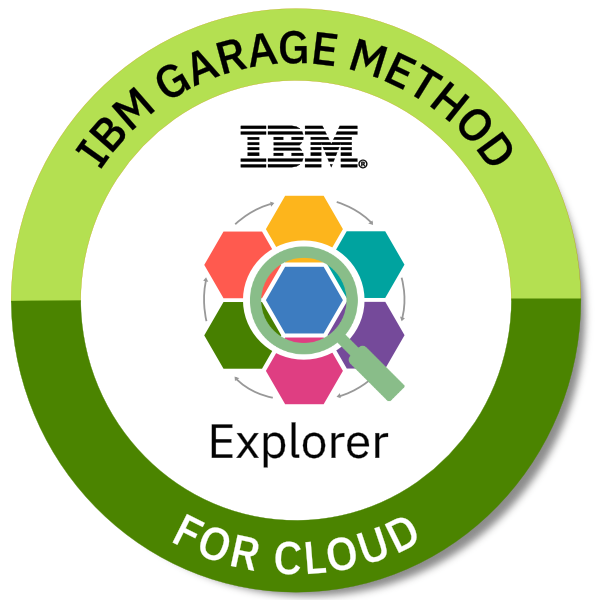 IBM Garage Method for Cloud Explorer