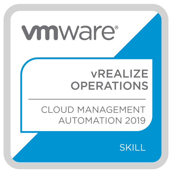 VMware vRealize Operations - Cloud Management Automation 2019