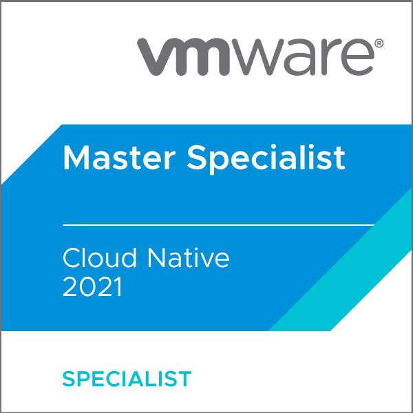 VMware Certified Master Specialist - Cloud Native 2021