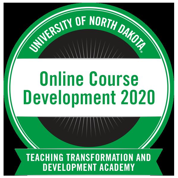 Online Course Development 2020
