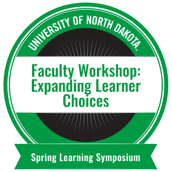 Faculty Workshop: Expanding Learner Choices