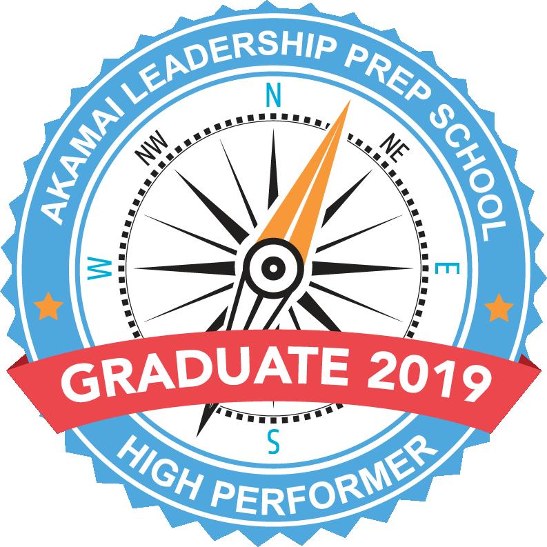Akamai Leadership Prep School Graduate 2019