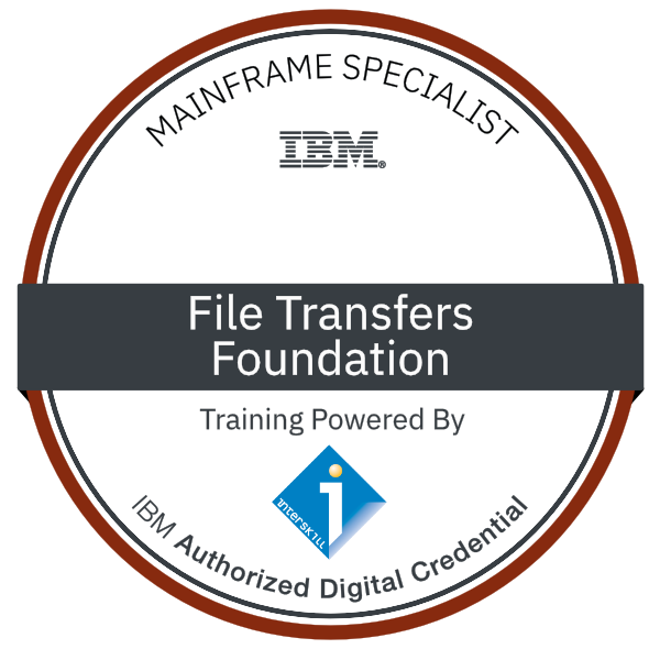 Interskill - Mainframe Specialist – File Transfers – Foundations