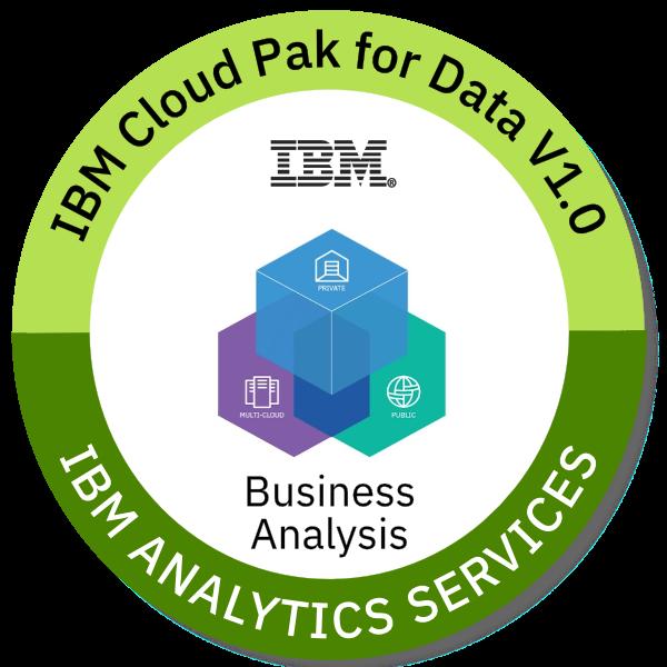 IBM Cloud Pak for Data V1.0 Business Analysis