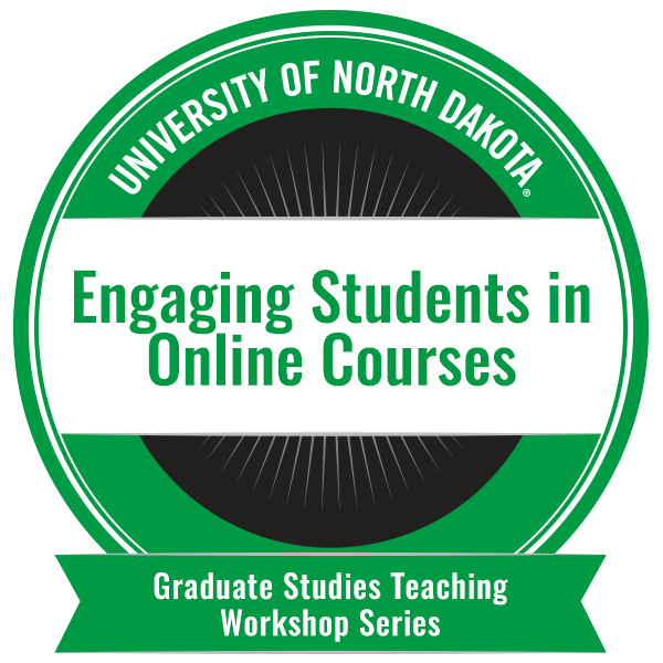 Engaging Students in Online Courses