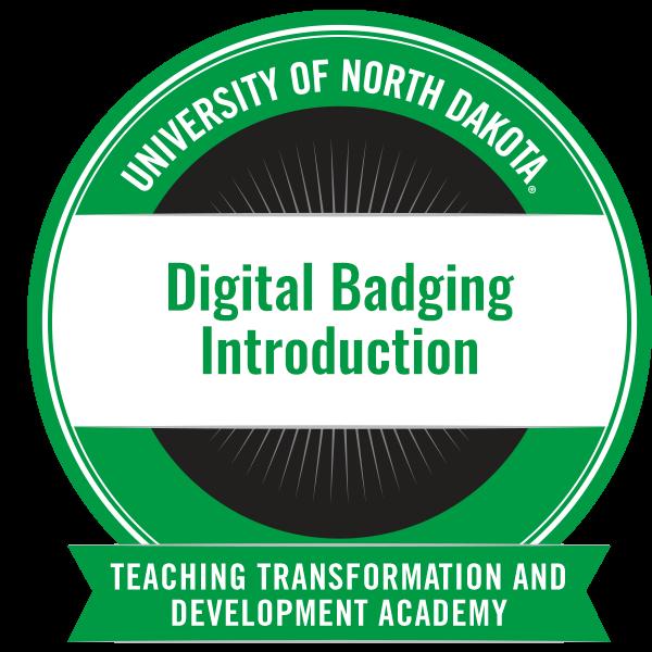 Digital Badging Introduction