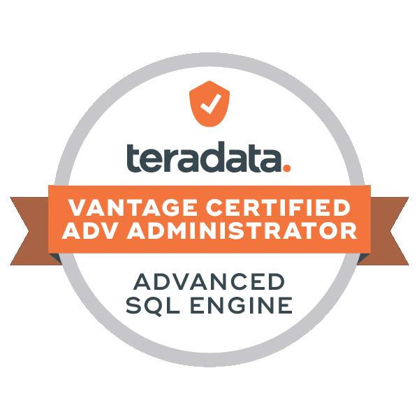 Vantage Certified Advanced Administrator