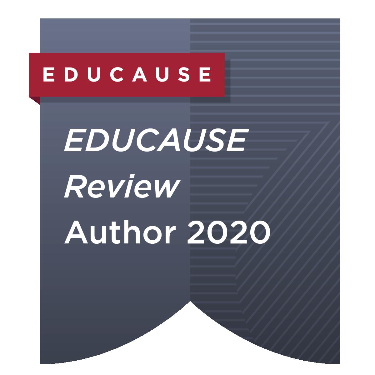 EDUCAUSE Review Author 2020