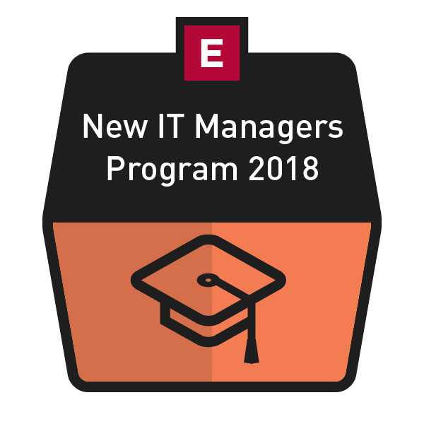 New IT Managers Program 2018