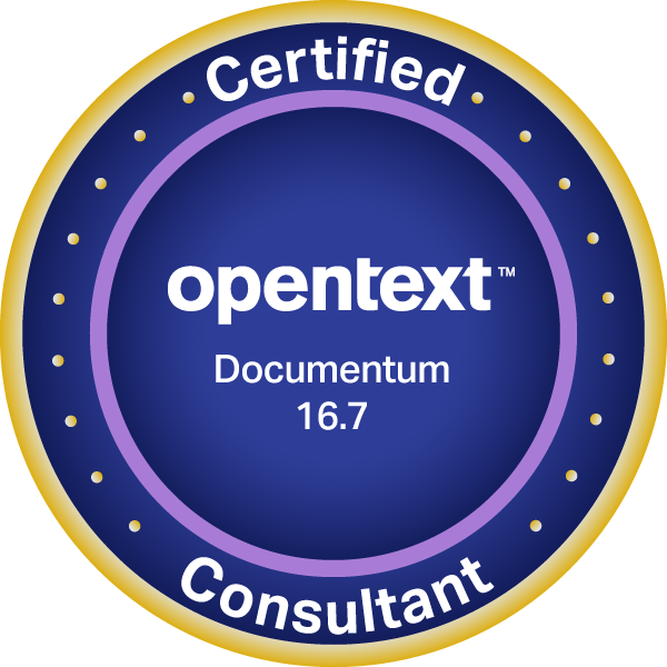 OpenText Certified Consultant - Documentum 16.7