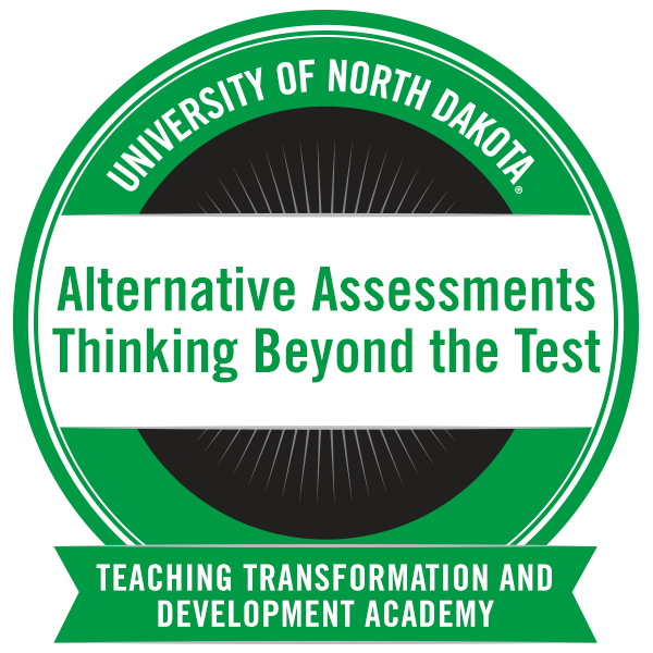 Alternative Assessments: Thinking Beyond the Test Seminar