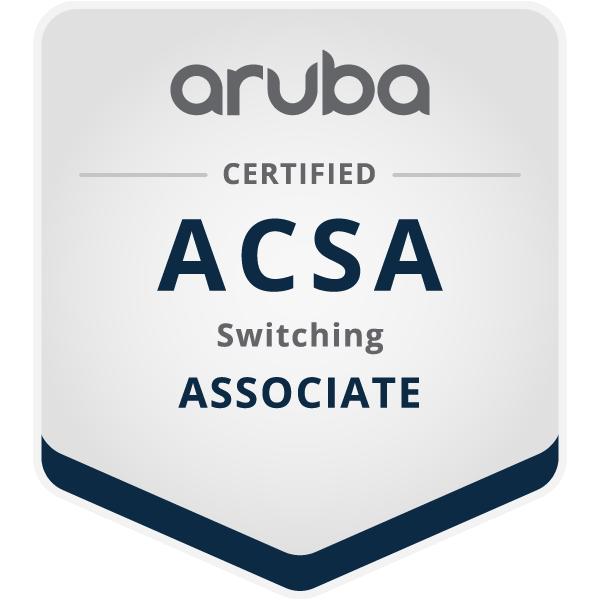Aruba Certified Switching Associate (ACSA)