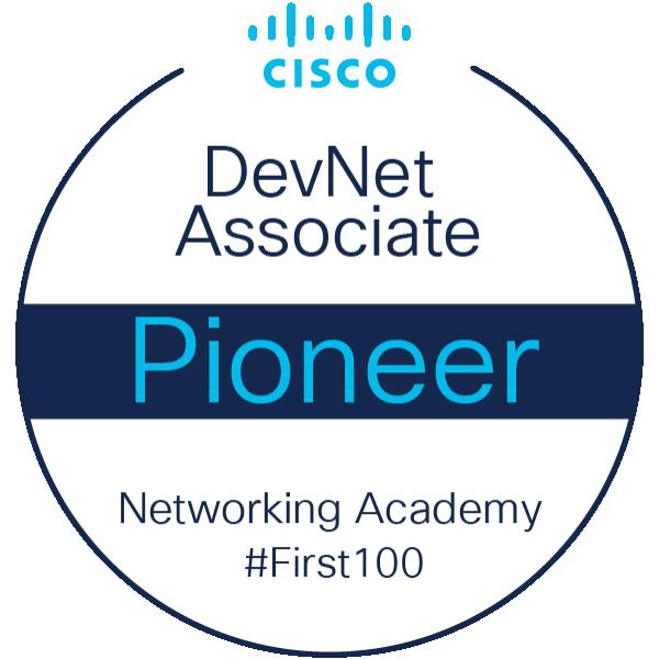 DevNet Associate Instructor Pioneer