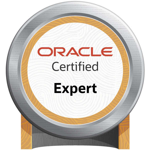 Oracle Certified Expert, Oracle Database 12c: Performance Management and Tuning