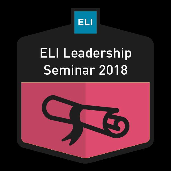 ELI Leadership Seminar 2018