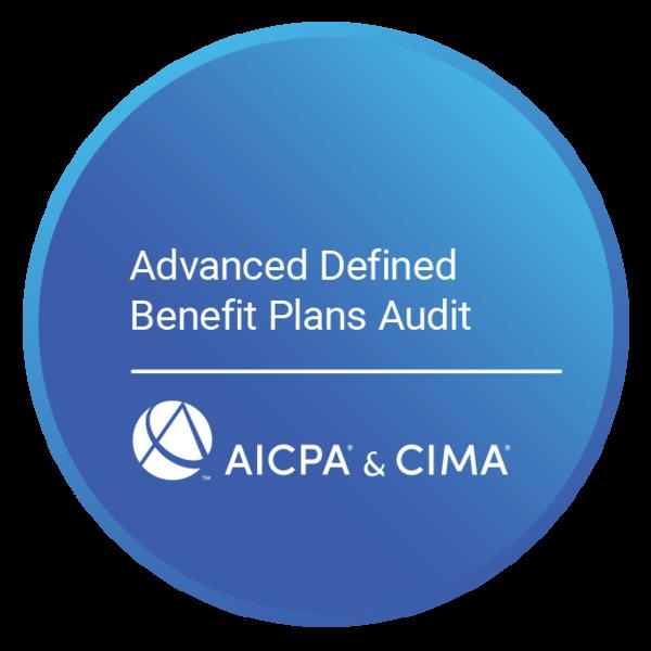 Advanced Defined Benefit Plans Audit Certificate