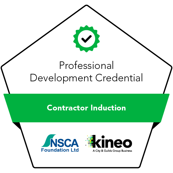 Contractor Induction