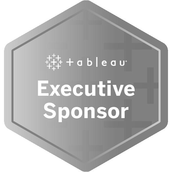 Tableau Executive Sponsor