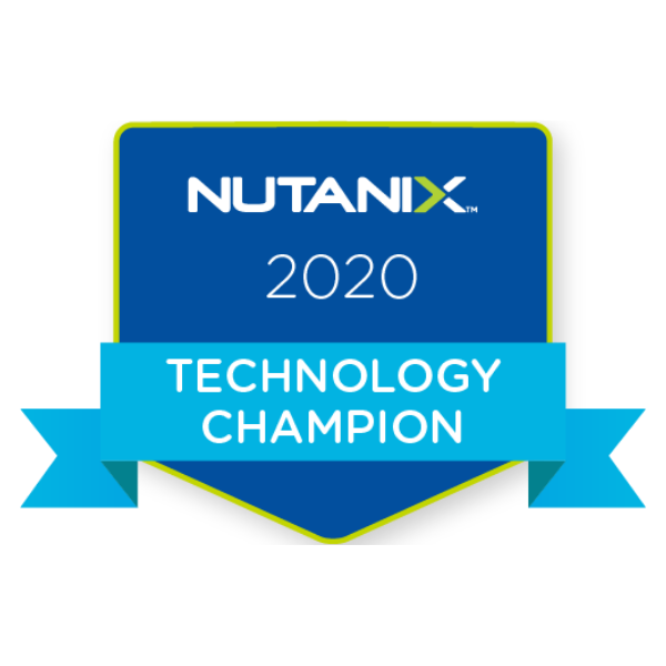 Nutanix Technology Champion