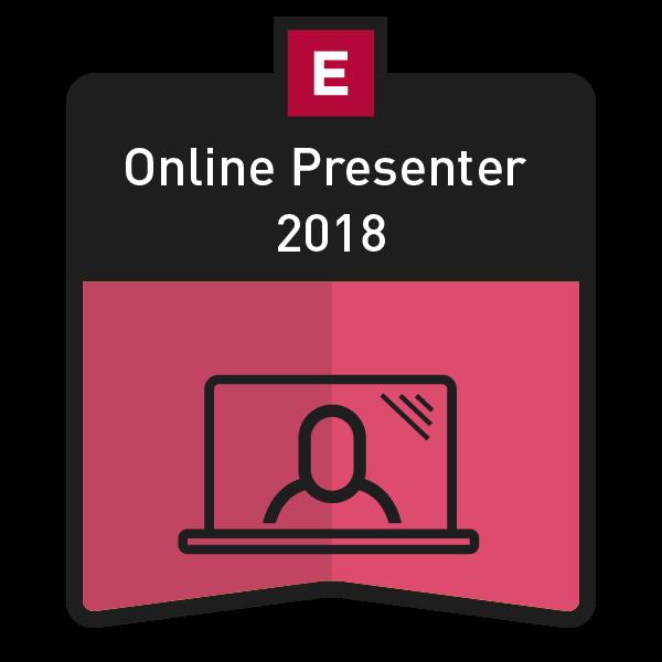 Online Presenter 2018