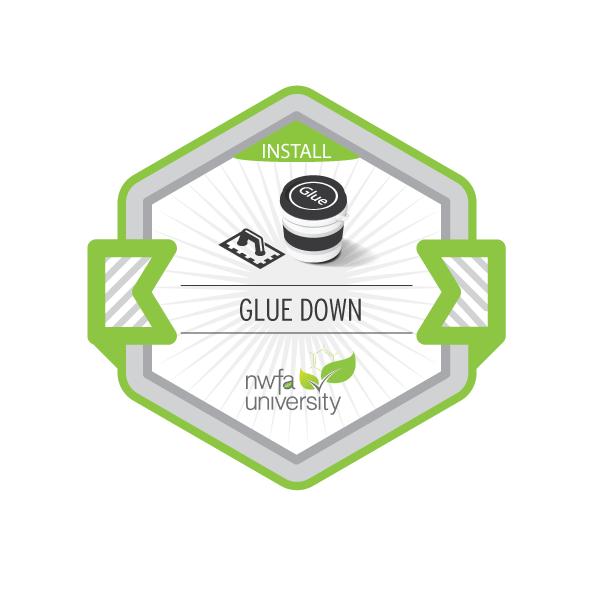Glue-Down Installation Process