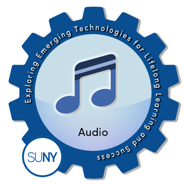 Audio - SUNY #EmTechMOOC