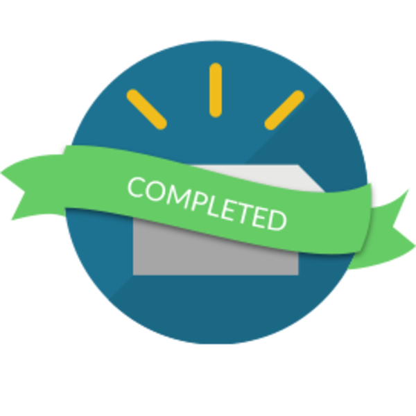 Creativity: Certificate of Completion