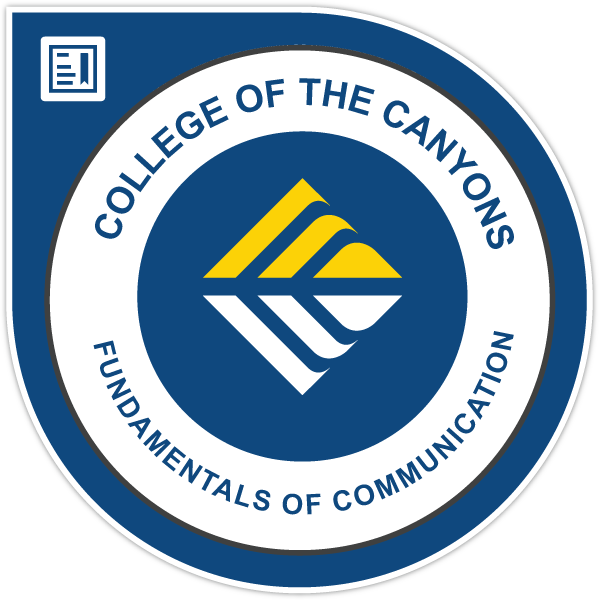 Fundamentals of Communication Certificate