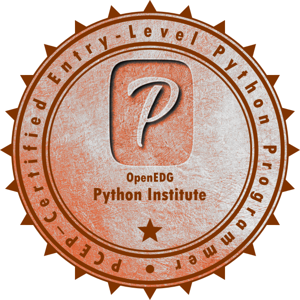 [PCEP-30-01] PCEP – Certified Entry-Level Python Programmer