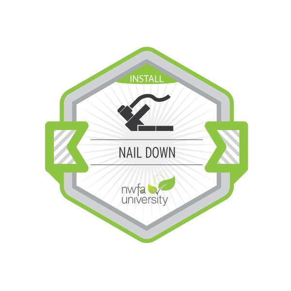 Nail-Down Installation Process