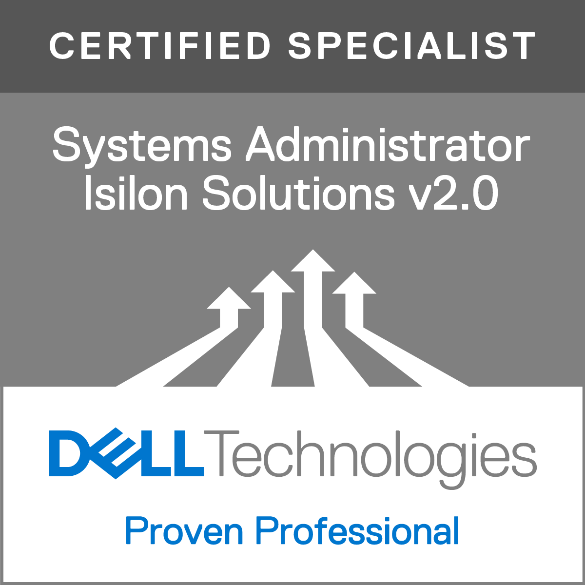 Specialist - Systems Administrator, Isilon Solutions Version 2.0