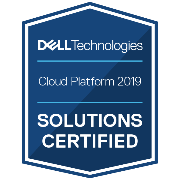 Dell Technologies Cloud Platform 2019