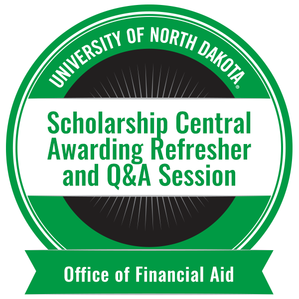 Scholarship Central Awarding Refresher and Q&A Session