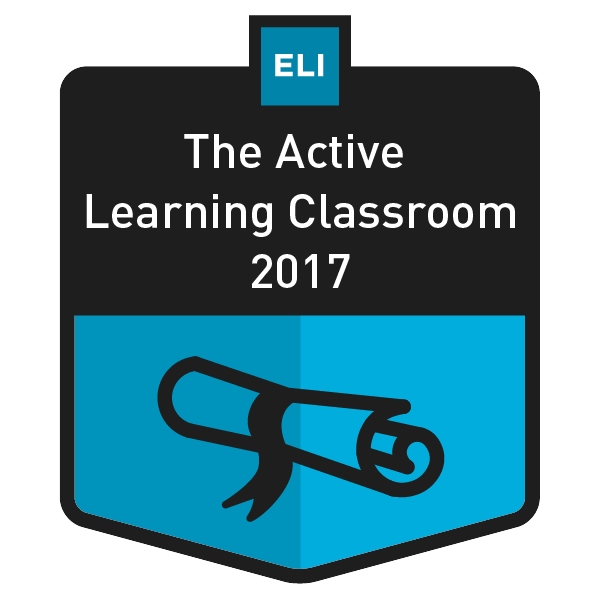 The Active Learning Classroom 2017