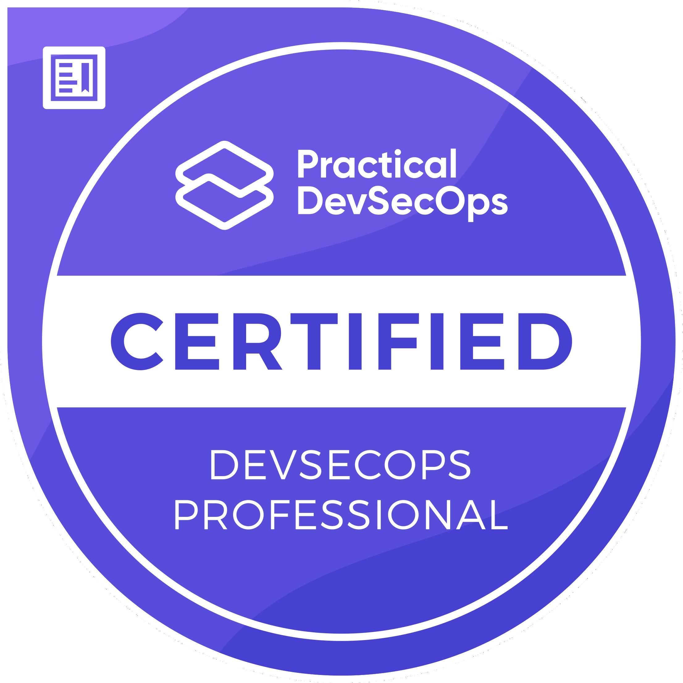 Certified DevSecOps Professional (CDP)
