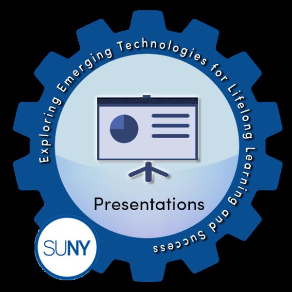 Presentations - SUNY #EmTechMOOC