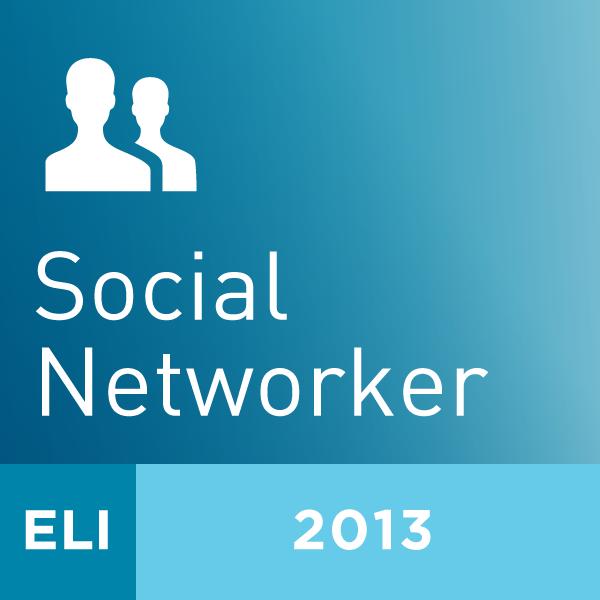 2013 ELI Annual Meeting Social Networker: #ELI2013