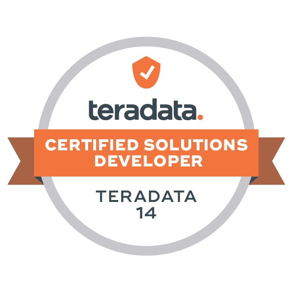 Teradata 14 Certified Solutions Developer